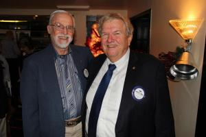 Past District Governor Gene Crandall and President Pat