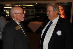 District Governor Joe and President Pat