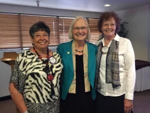 Maria Elena McElroy, Dr. Cane, Sharyn Chesser